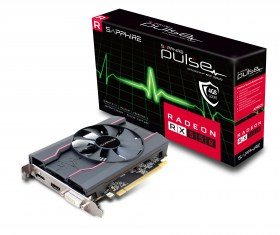 SAPPHIRE PULSE RADEON RX 550 4G with box